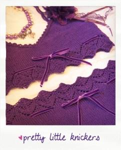 pretty little knickers knitted lingerie knitting pattern