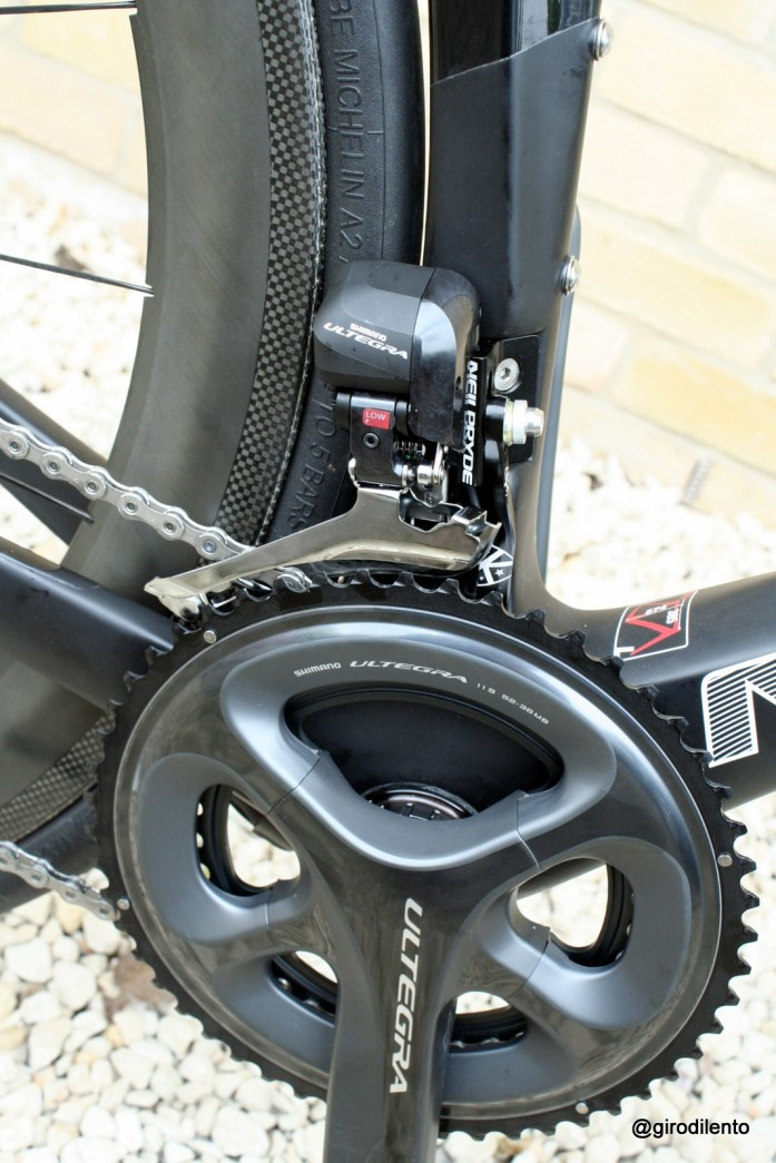 NeilPryde Alize (Nazare) Di2 6870 front mech & cranks