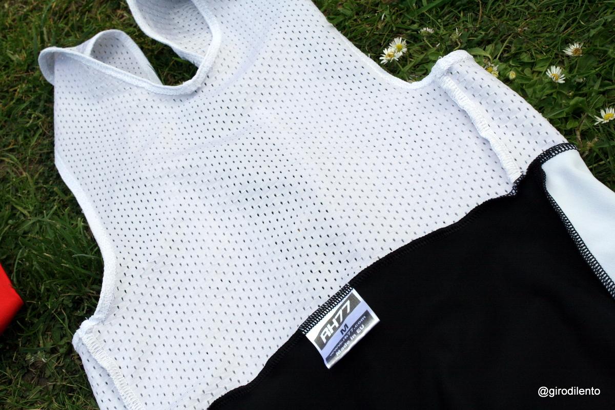 Bellitanner Bib shorts - upper detail