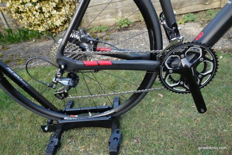Ultegra mechs, 105 cassette and chain with non-series R500 compact cranks