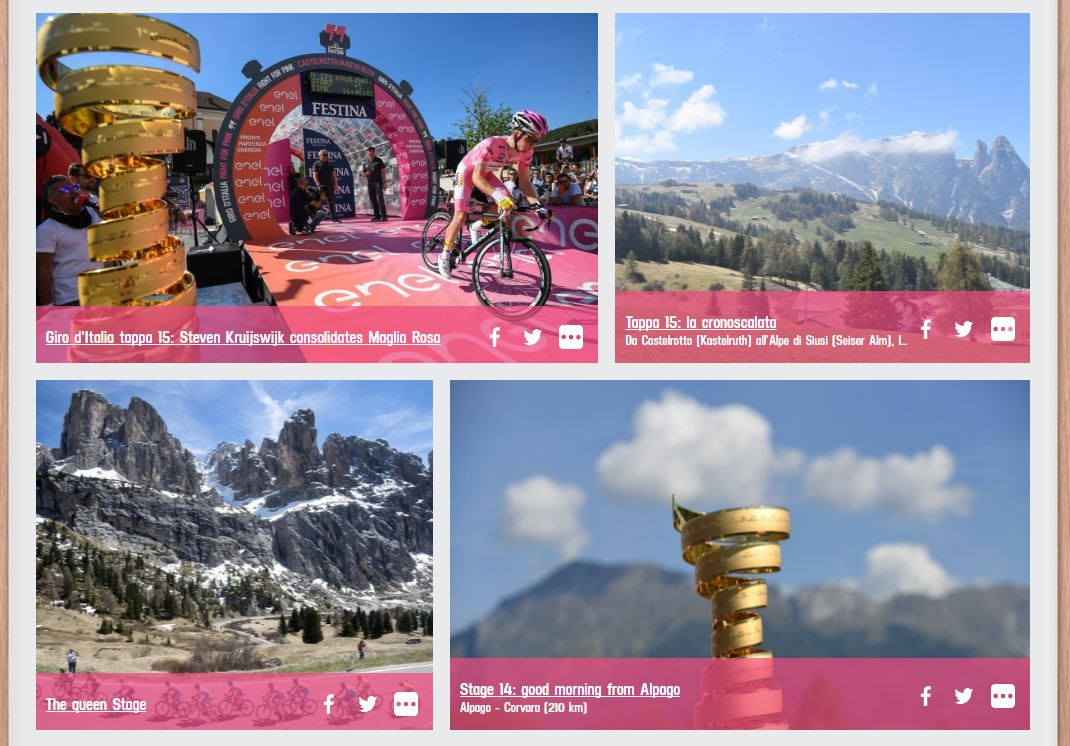 "Giro D'Italia 2016: Week 2 - ""Age and Treachery"""