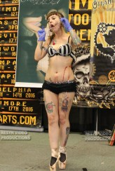 Wildwood Tattoo Convention 2015 | Gisella Rose | Villain Arts