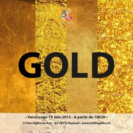 Expo GOLD – Art Life Gallery St Raphael