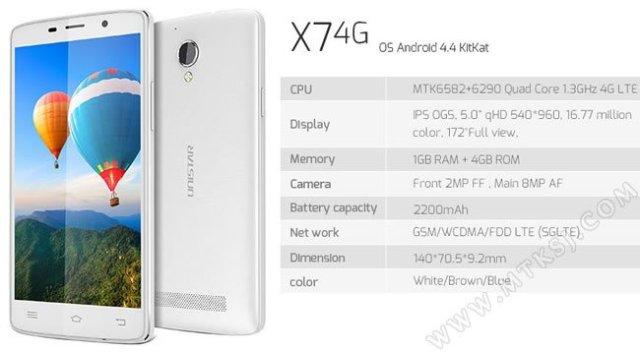 Unistar X7 4G