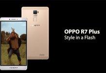 Spot Oppo R7 Plus