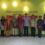 Kunjungan Kerja ke Department of Food science and Technology Faculty of Agro-Industry, Kasetsart University