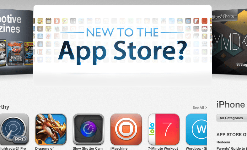top ten iphone apps july 2013