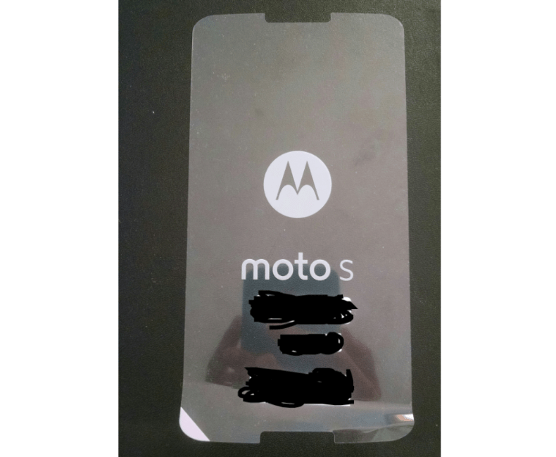 Moto S Android Silver