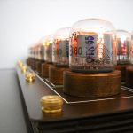 Nixie tube chess set glows without visible wires 11