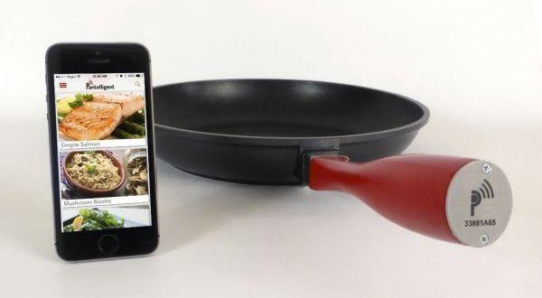 Pantelligent smart frying pan