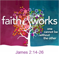 Faith and works are present in us when we: Hear God's Word; Believe Jesus is The Christ; Confess Christ Before Men; Are Baptized In Water; Live Faithfully.