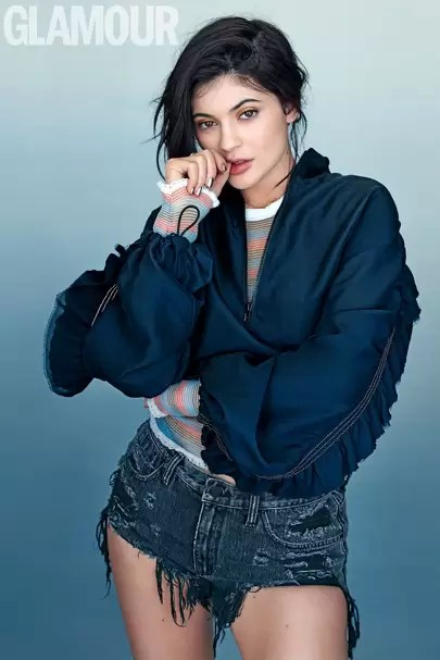 Kylie Jenner Glamour Interview   I m an inspiration    Glamour UK Advertisement