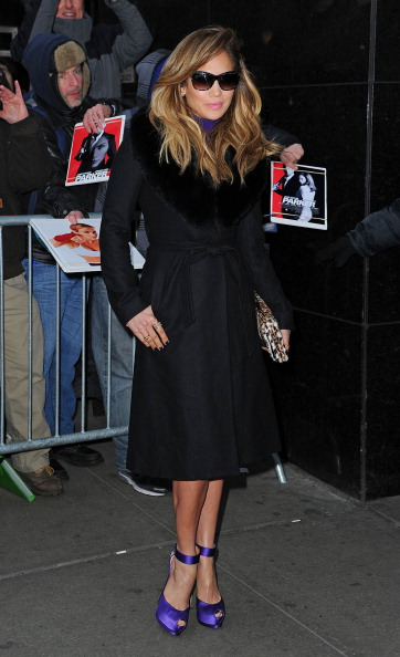 Celebrity Sightings In New York - January 22, 2013