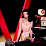 Crystal Renn in Agent Provocateur Spring 2013 Campaign