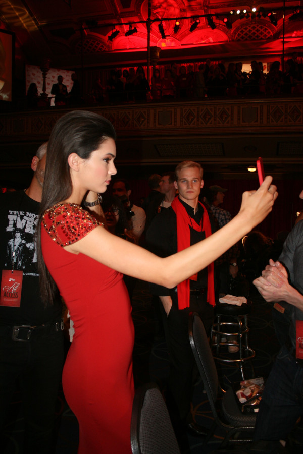 Kendall Jenner at 2013 Heart Truth Red Dress Show