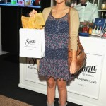 TV Personality Ali Fedotowsky was feeling thirsty after making the rounds with DJs in town from across the country this weekend and was the first person to stop by the official AMA Gift Lounge for a cocktail at the Sauza Gifting Suite.