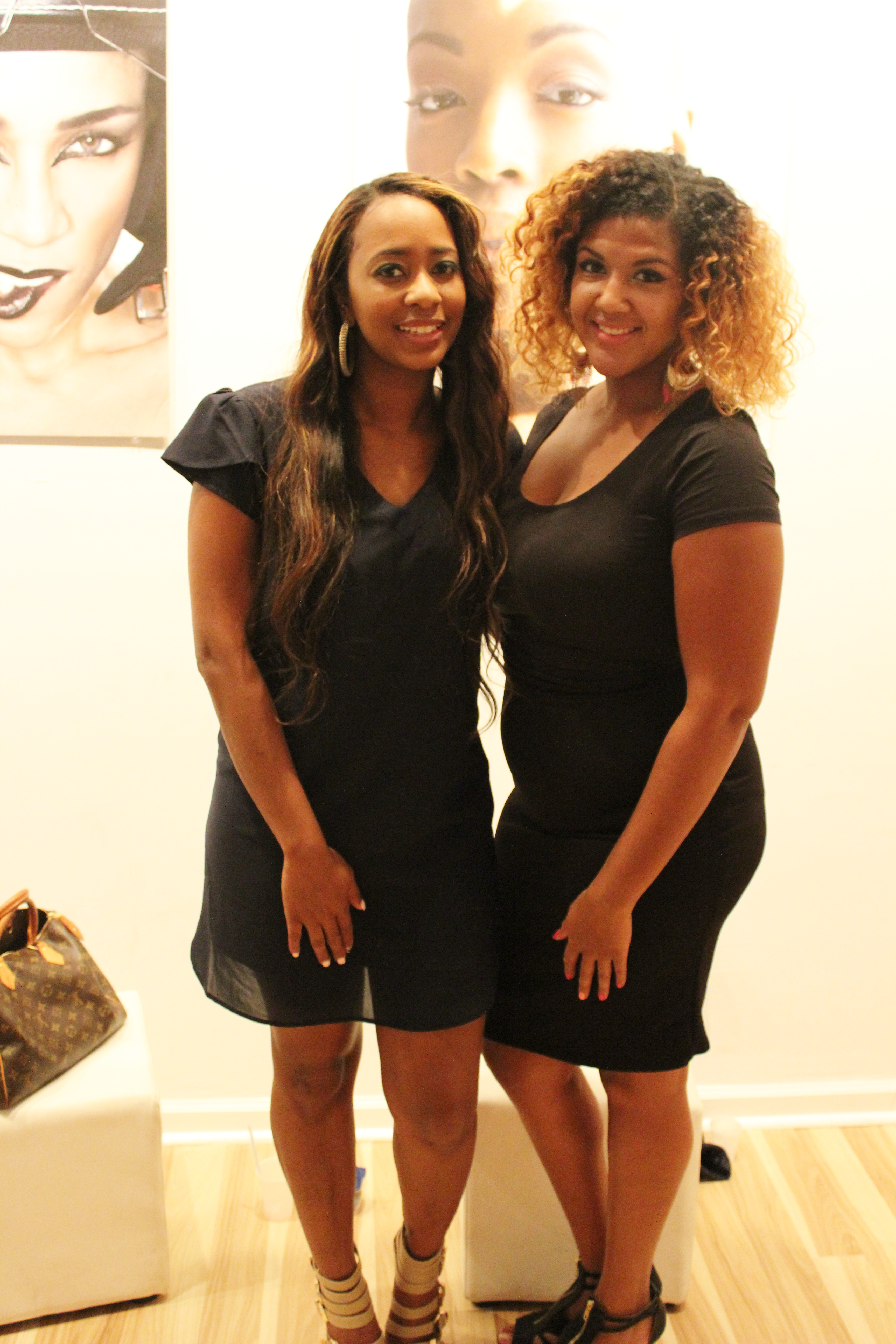 Your Chic Is Showing Interns - Nia and Audris