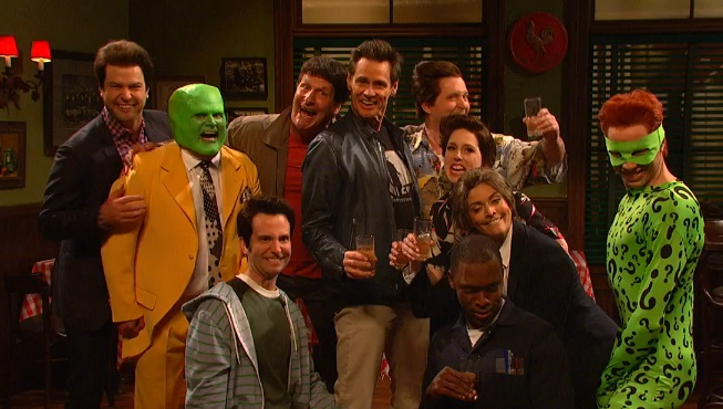 Jim Carrey Has A Reunion With All His Past Characters in Hilarious 'SNL' Sketch [VIDEO]