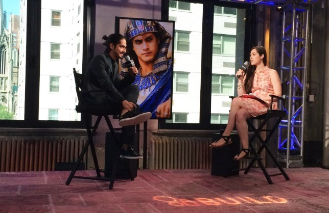 'TUT' Actor Avan Jogia Talks The Miniseries Event At AOL Build