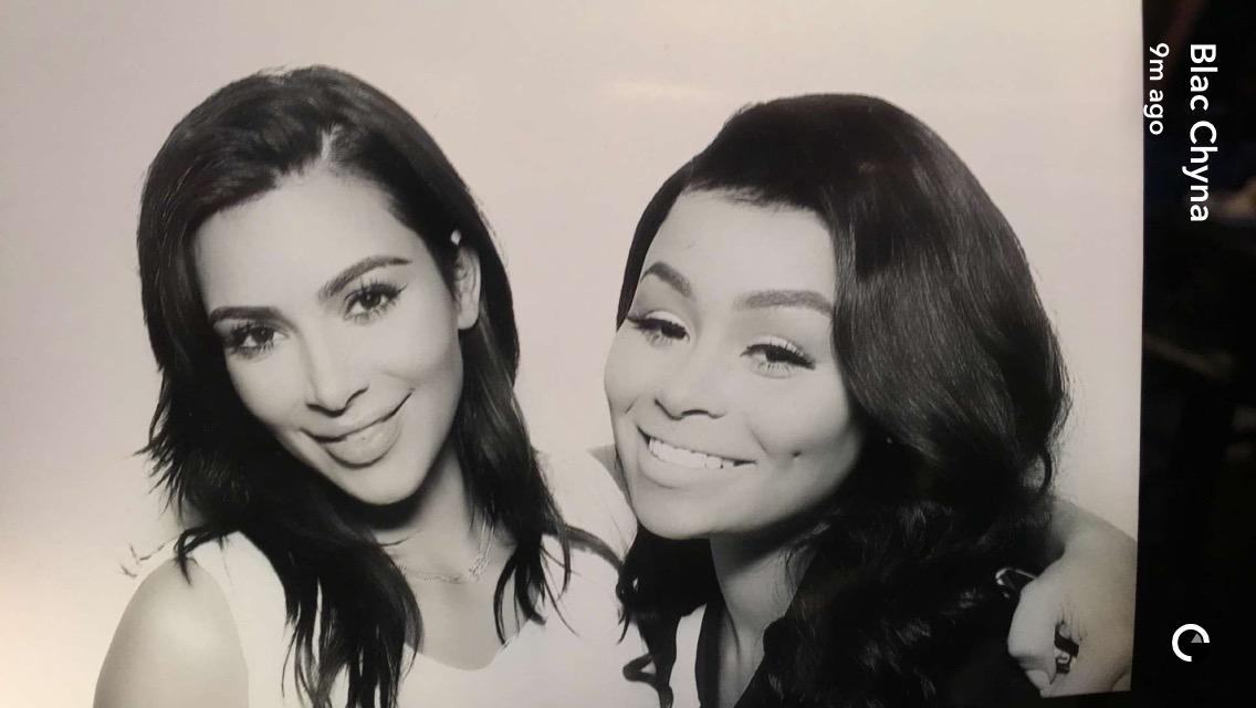 Kim Kardashian West and Blac Chyna