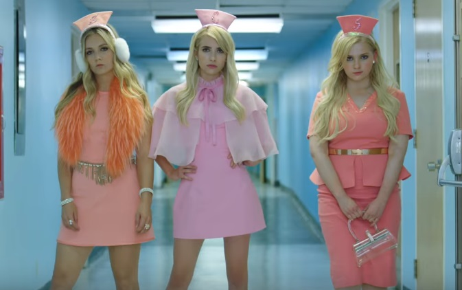 Idiot Hookers The Chanels Are Back In The First 'Scream Queens' Season 2 Promo