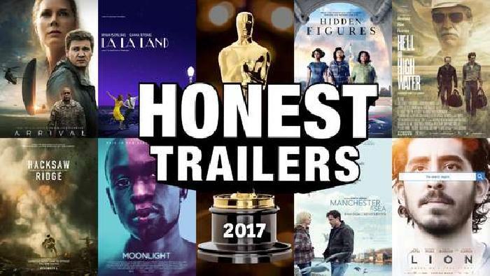 Screen Junkies Breaks Down The 2017 Oscars Films In New Honest Trailer