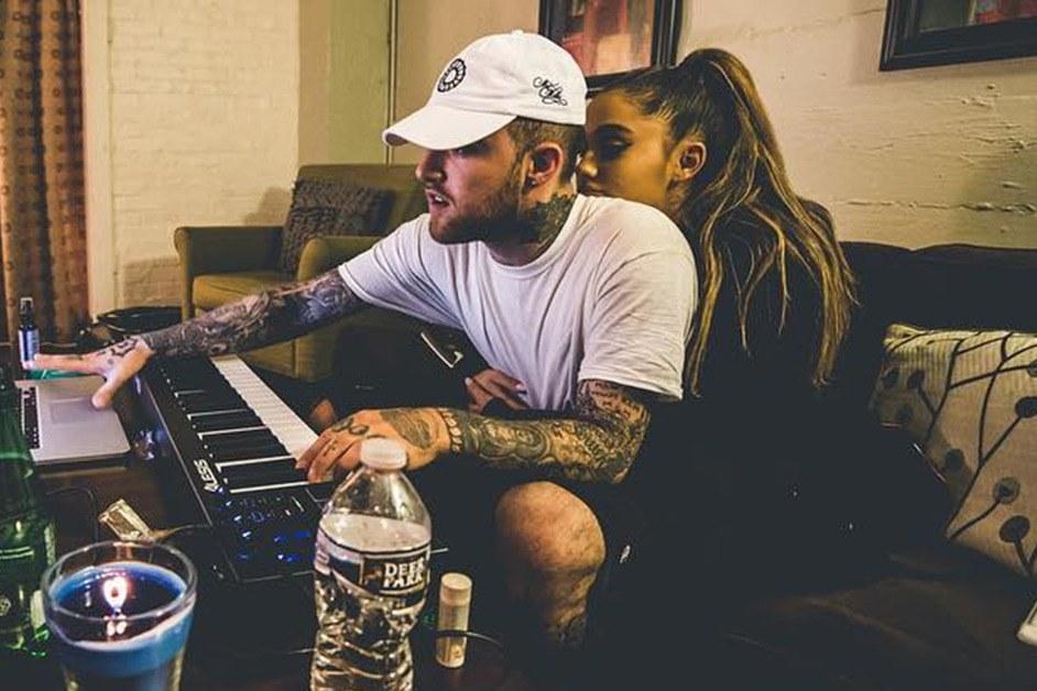 Ariana Grande and Mac Miller/Photo: Instagram