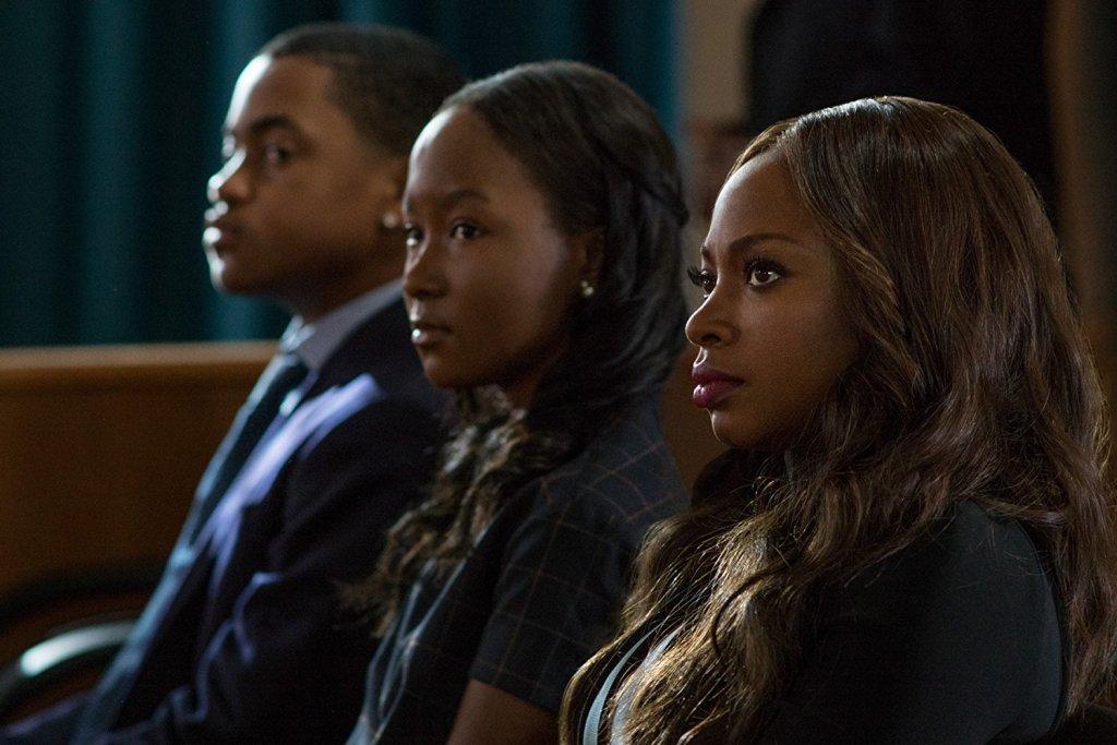 Naturi Naughton, Donshea Hopkins, and Michael Rainey Jr. in Power/ Photo: Starz