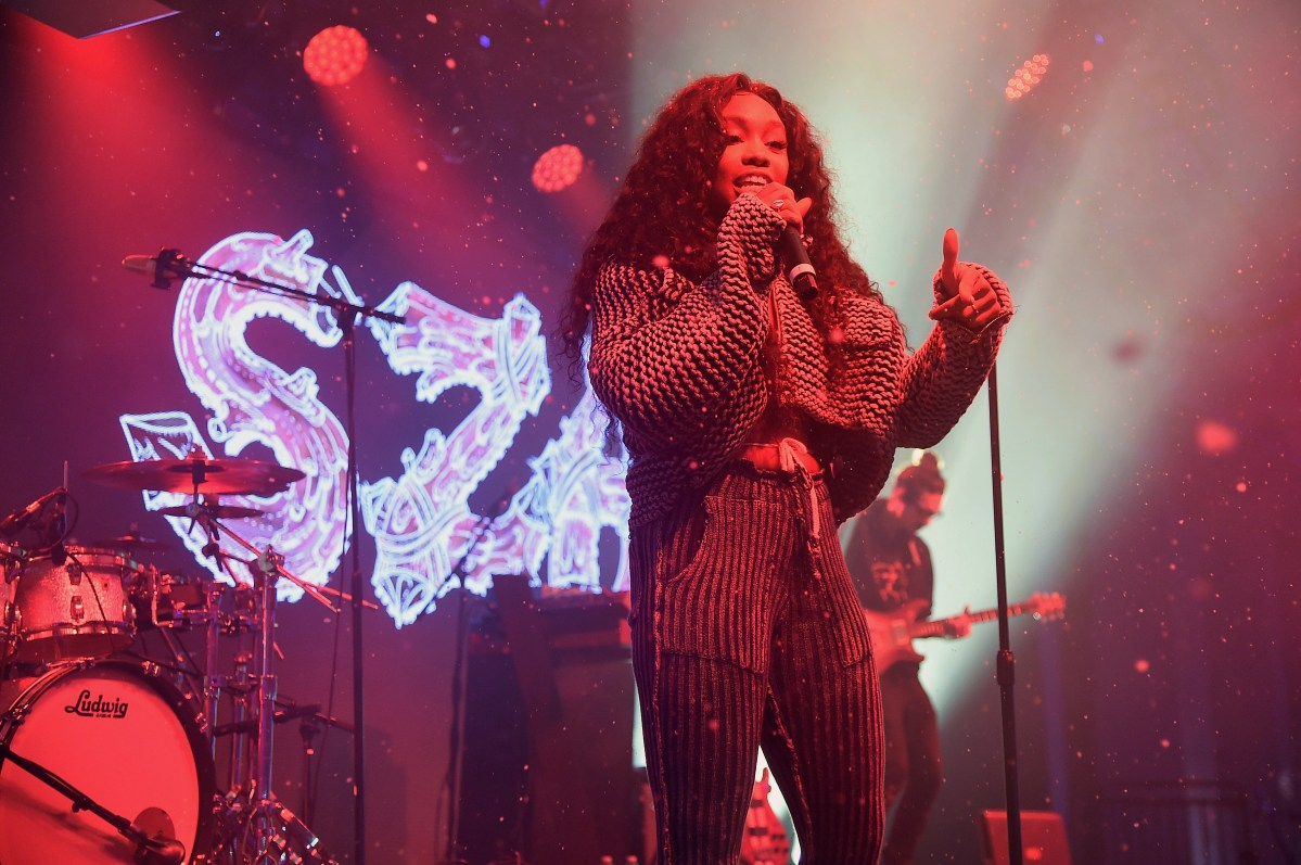 SZA Steals The Show At Pandora's Sounds Like You 2017 Music Event