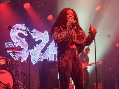 NEW YORK, NY - DECEMBER 05:  SZA performs at Pandora Sounds Like You: 2017 on December 5, 2017 in New York City.  (Photo by Theo Wargo/Getty Images for Pandora)