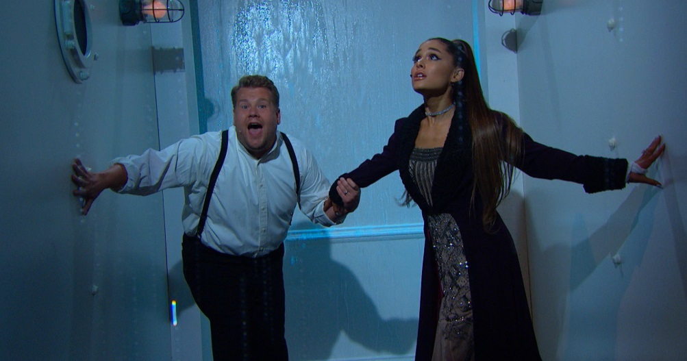 Ariana Grande and James Corden Give The Soundtrack To ...