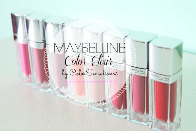 Lips you'll love: Maybelline Color Elixir