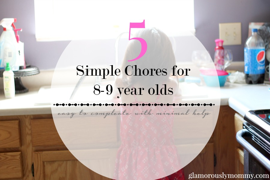 5 Chores for a 8-9 year old
