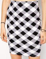 ASOS Gingham Skirt- glamourita.com