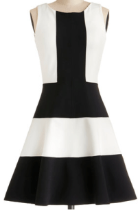 Modcloth Colorblock Dress- glamourita.com