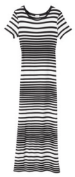 Target Striped Maxi Dress- glamourita.com