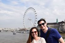 One of our favorites in London, The London Eye
