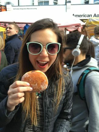 Donuts seem to be their specialty in London!