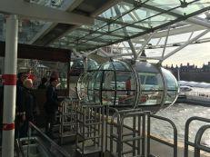 Getting on the London Eye