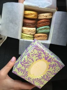 Some delicious macarons from laduree
