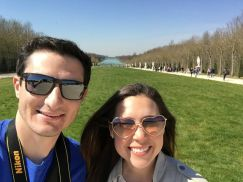 Selfie at the Palace of Versailles