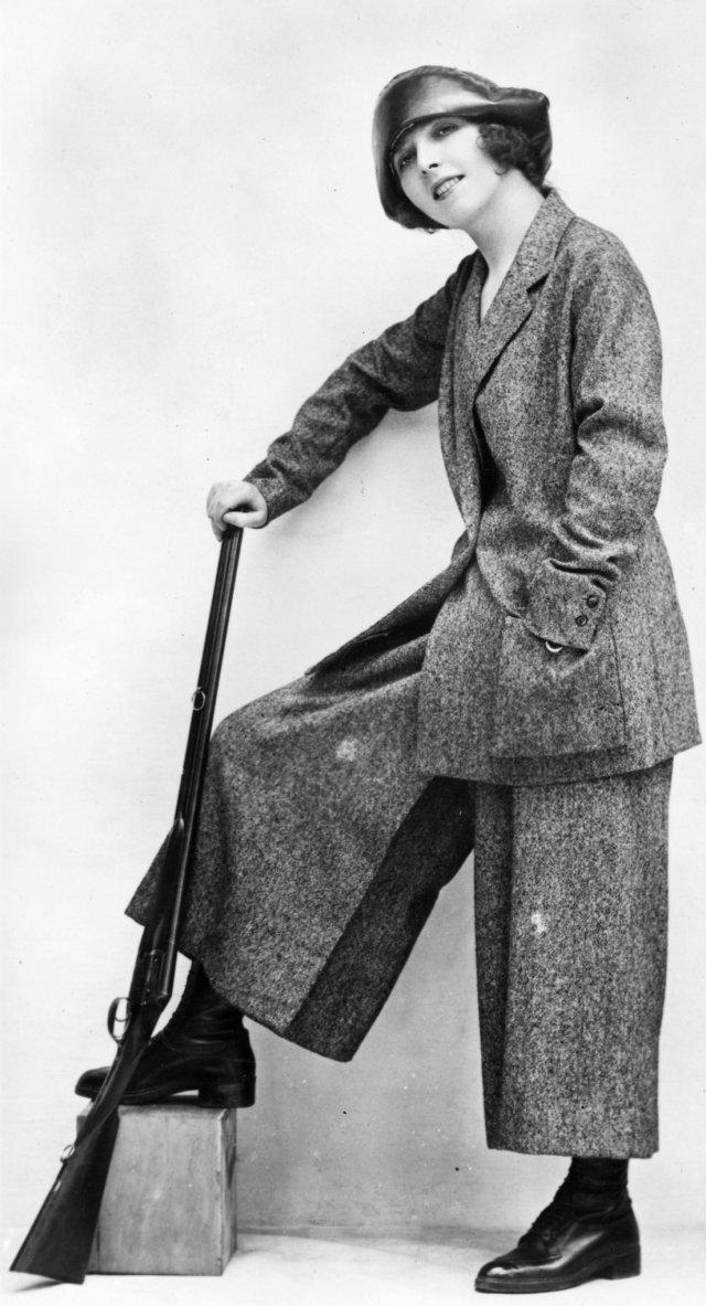 Culottes gun