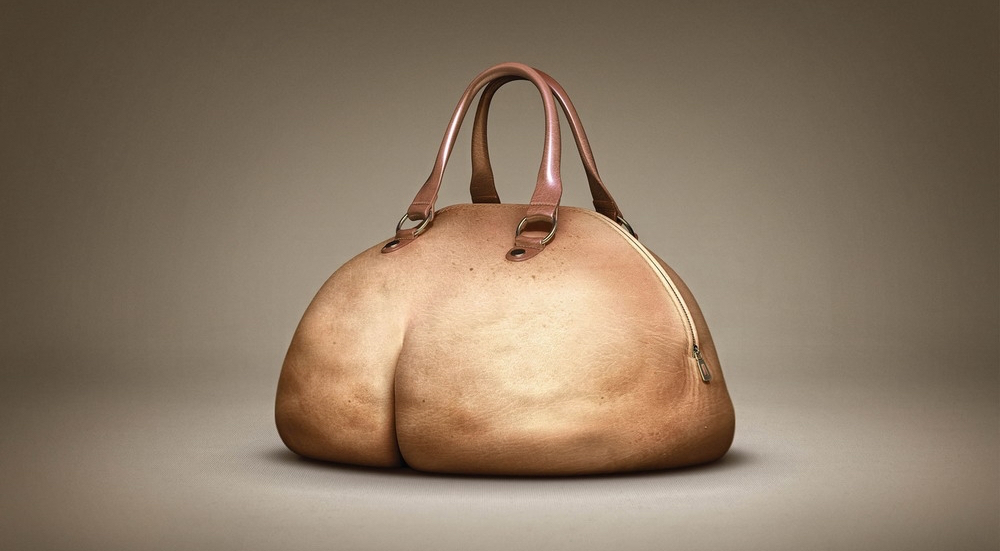 Daniel Puppet's man-bag. Let's not discuss the girth.