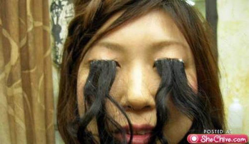 Hairy eyes