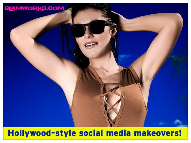 Check out Glamworks.com and our $399 Social Media Makeover!  You won't believe what you get!