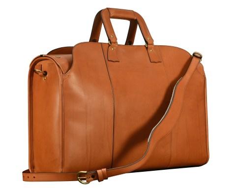 Hand-burnished-chestnut-Litigation-Bag;-22-x-14-x-8-back