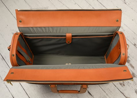 Hand-burnished-chestnut-Litigation-Bag;-22-x-14-x-8-topdown2