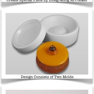 New Round Box Mold from Colour de Verre