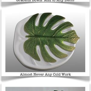 Another Cool New Mold from Colour de Verre – Monstera