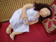 Szülés felkészítő demo baba